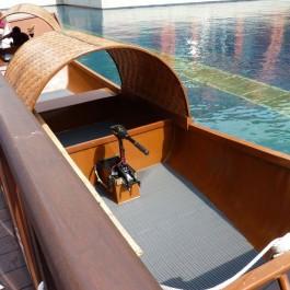 Floorline in Grey on Boat