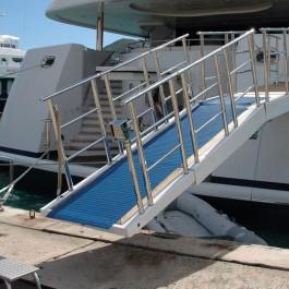 Floorline Example Use on Yacht