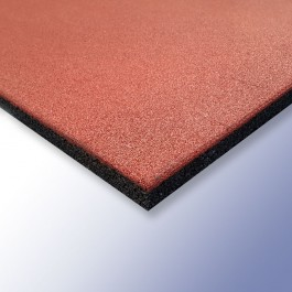 PLAY Safety Tiles Terracotta 1000mm x 1000mm x 30mm at Polymax