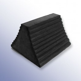 Pyramid Wheel Chock Solid 230L x 150W x 200H  at Polymax