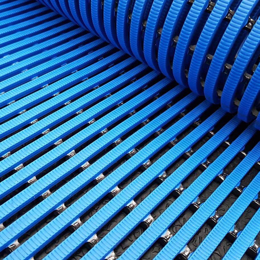 HERONRIB Pool Matting Blue 500mm Wide x 10mm