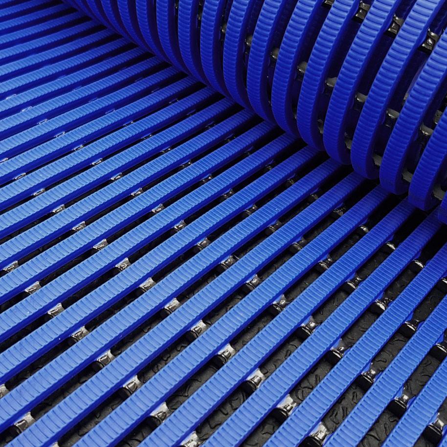 HERONRIB Pool Matting Dark Blue 500mm Wide x 10mm