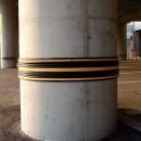 Parking Column Protector 5000L x 200W x 30H at Polymax