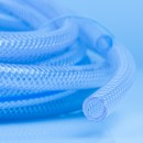 Translucent Silicone Braided Hose  at Polymax